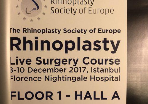 Съезд Европейского общества ринопластики - профессиональный продвинутый курс по ринопластике